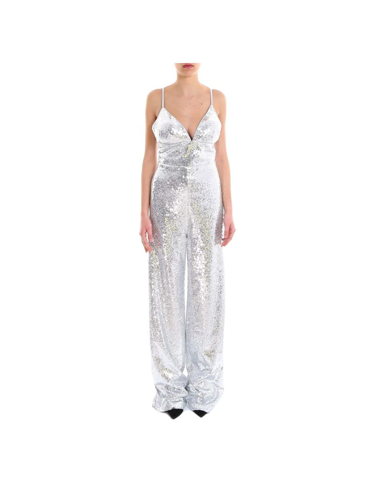 In The Mood For Love Devon Jumpsuit - Silver