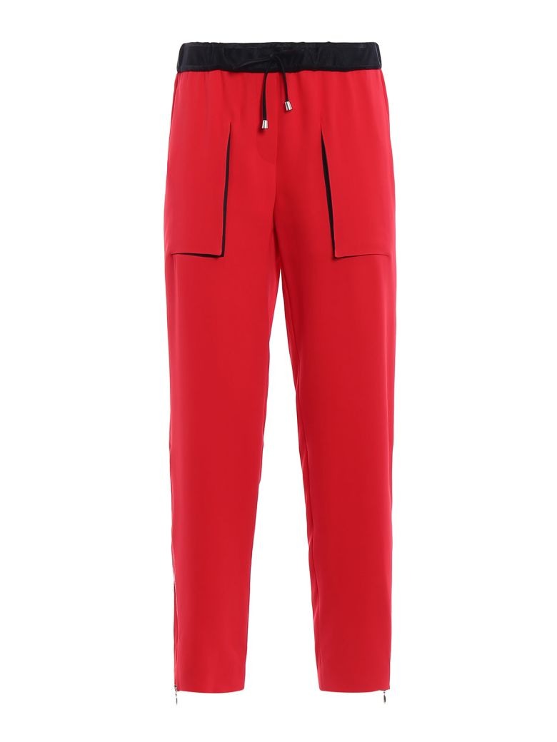 Giorgio Armani Drawstring Trousers - Multicolor