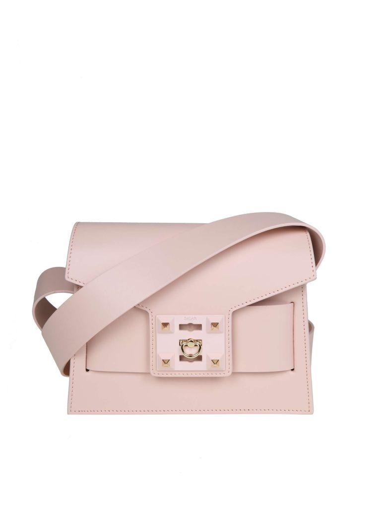 Salar Mila Bag In Skin Color Powder - Pink