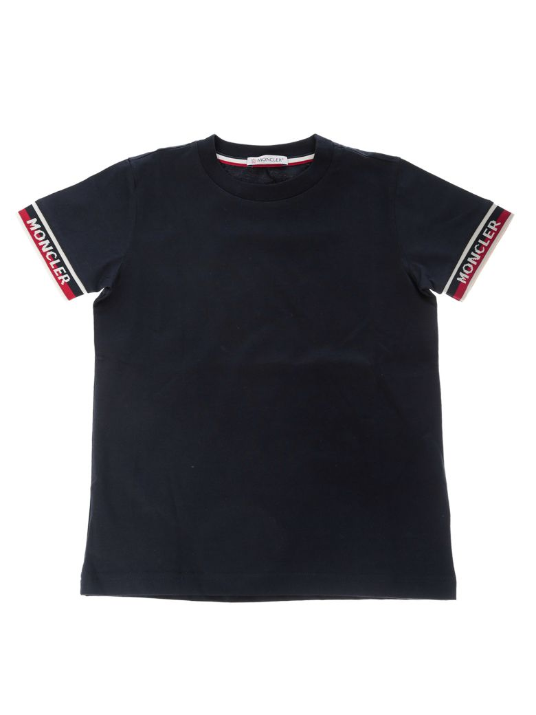 Moncler Kids Logo Sleeve T-shirt