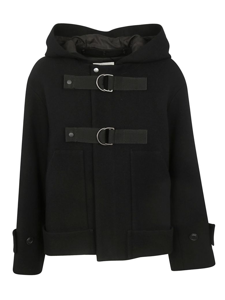 Zucca Hot-line Caban Coat - Black