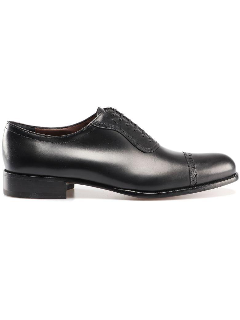 Salvatore Ferragamo Arcadia Oxford Shoes - Black