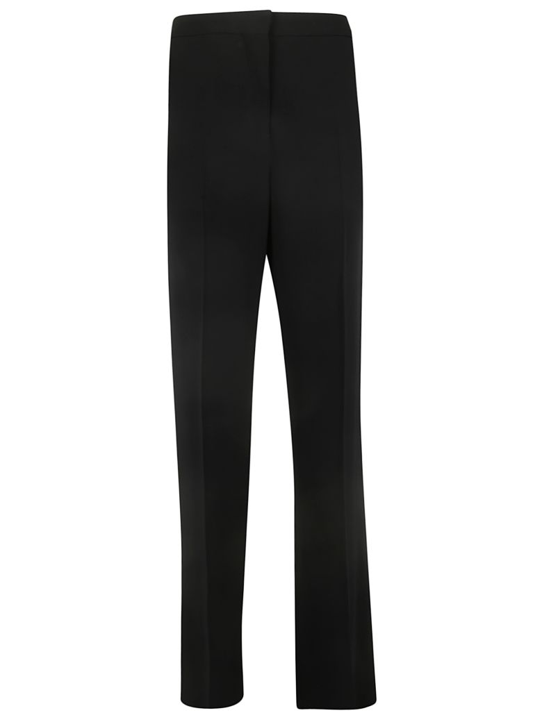 Rochas Long Flared Leg Trousers - Black