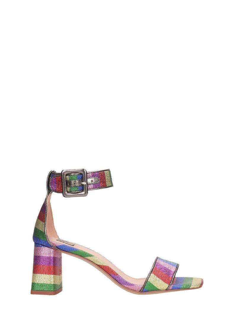 Bibi Lou Multicolor Canvas Sandals - Multicolor