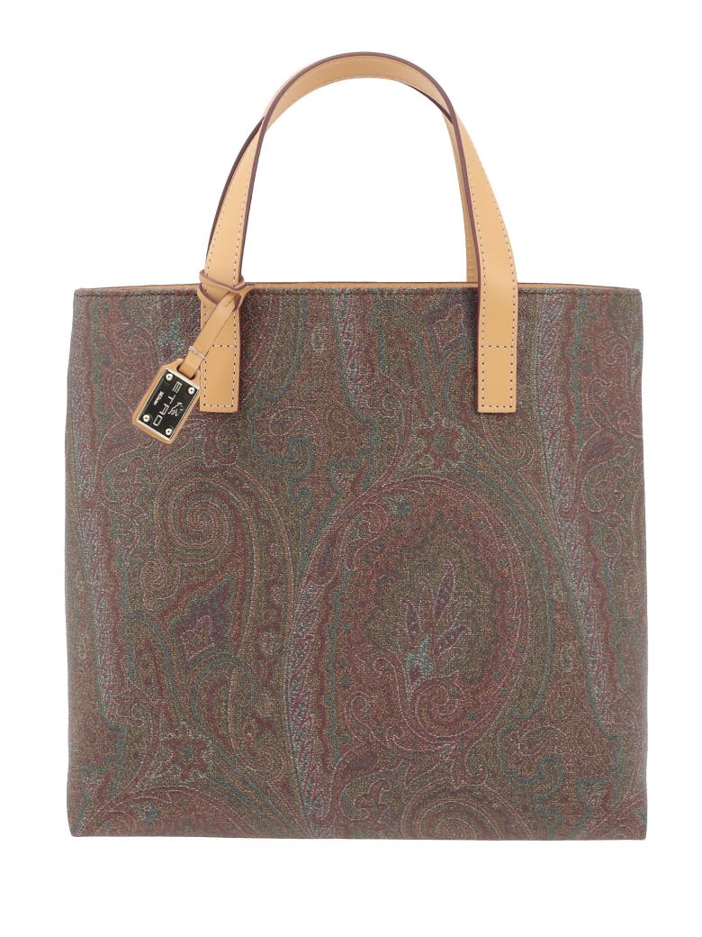 Etro Paisley Patterned Bag - Multicolor