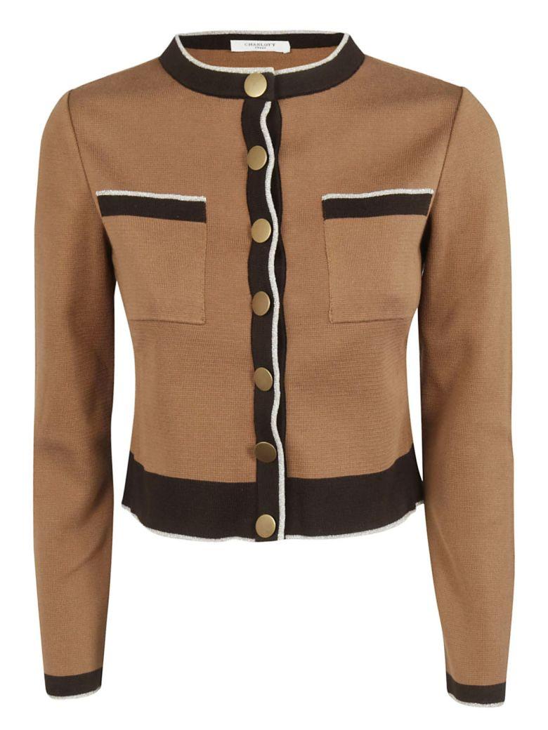 Charlott Buttoned Cardigan - Cammello