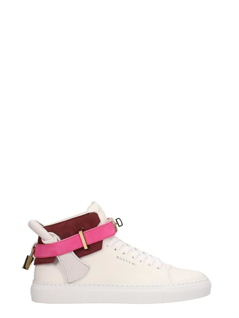 Buscemi 100mm High-top Sneakers - white