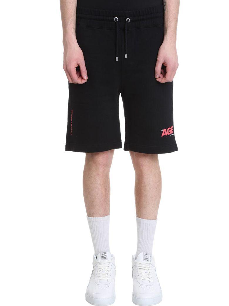 Filling Pieces Black Cotton Shorts - Black