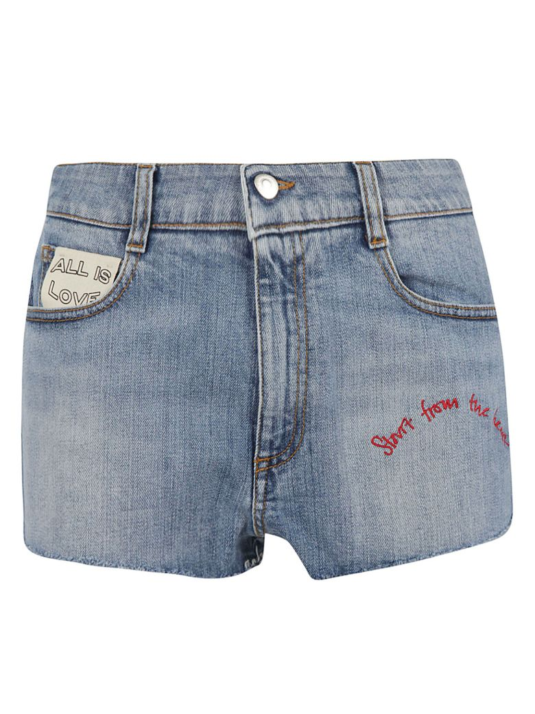 Stella McCartney Love Shorts - Retro blue