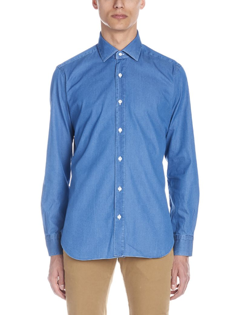 Barba Napoli 'culto' Shirt - Blue