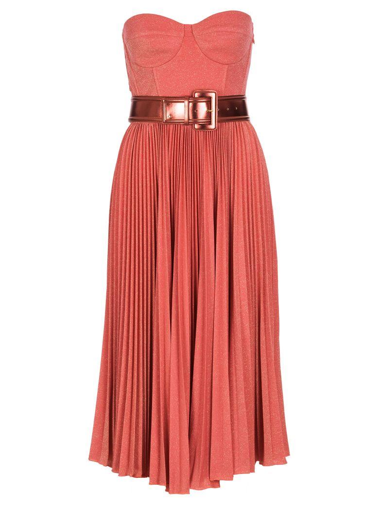 Elisabetta Franchi Celyn B. Elisabetta Franchi Dress With Belt - Multicolor