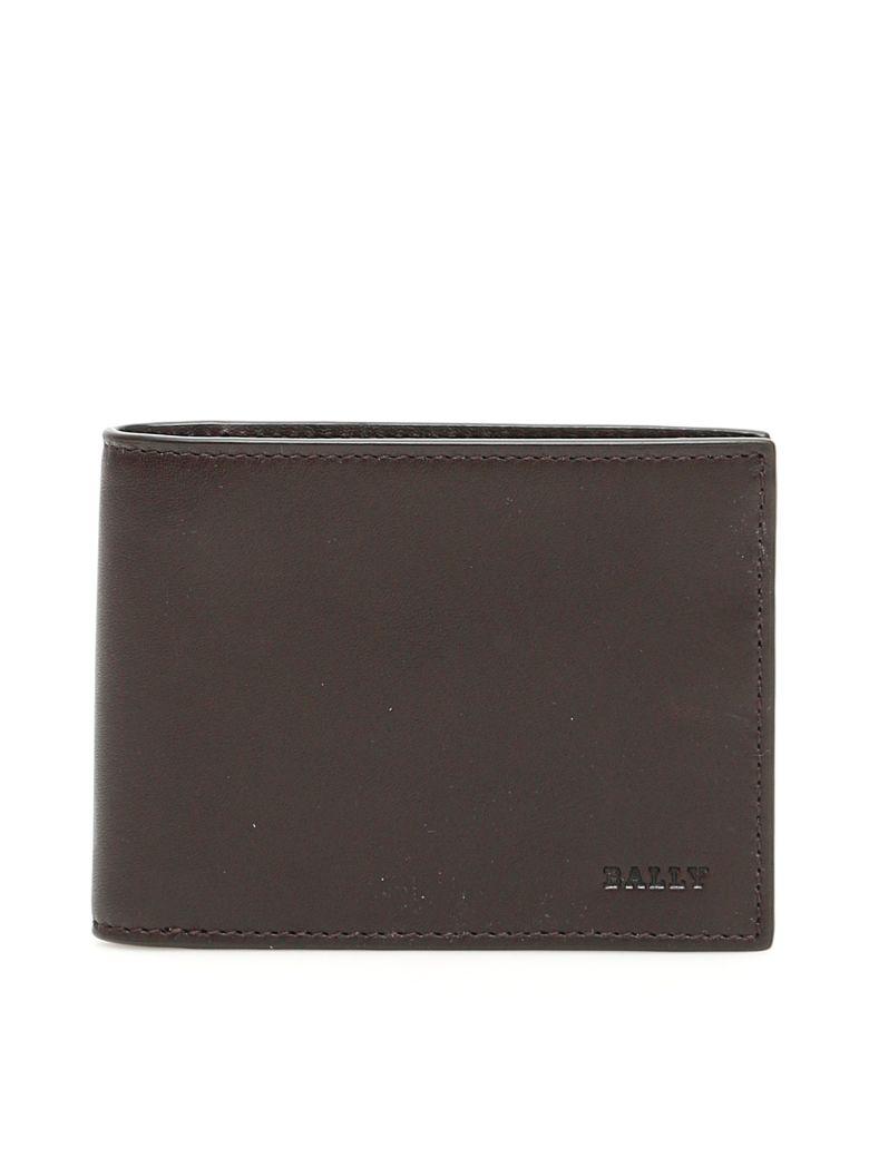 Bally Leather Telik Wallet - CHOCOLATE (Brown)