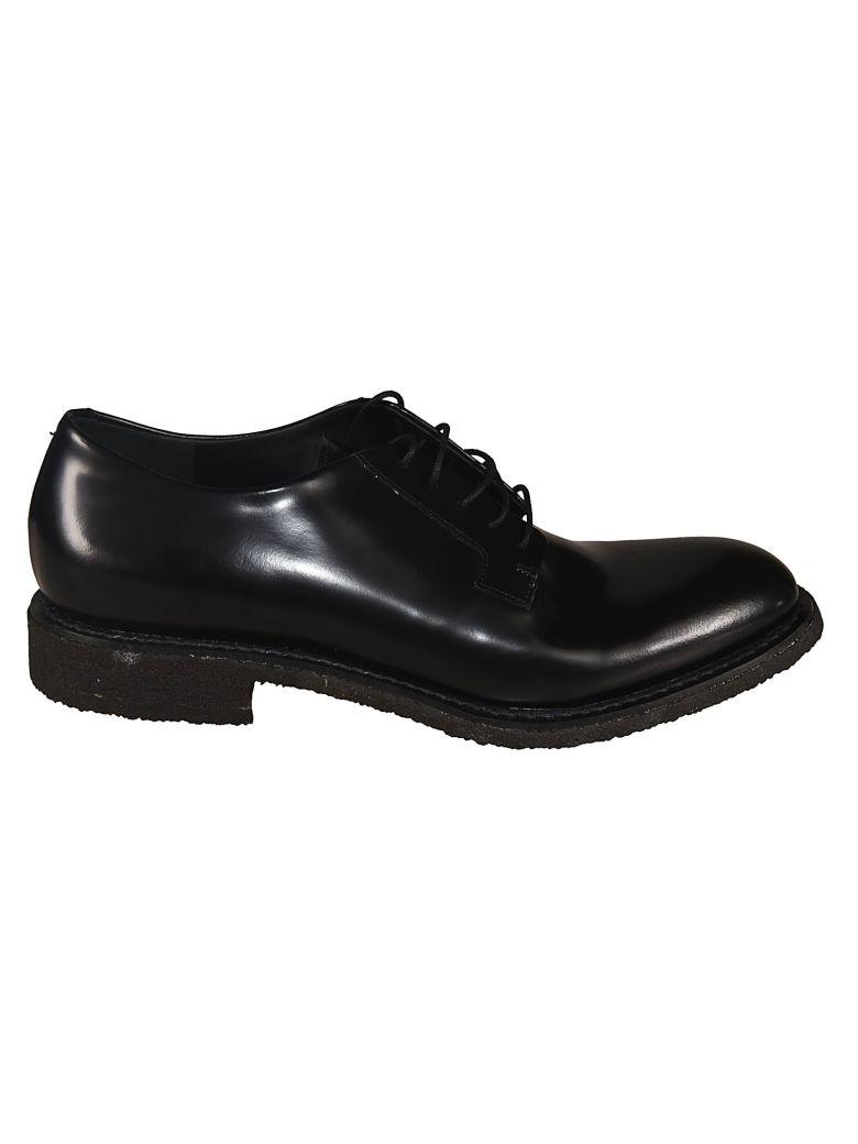 Del Carlo Classic Lace-up Combat Boots - Black