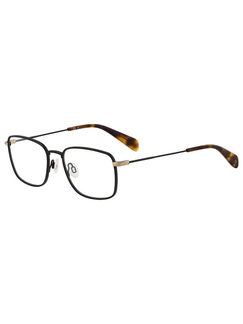 Rag & Bone RNB7022 Eyewear - Gold Black