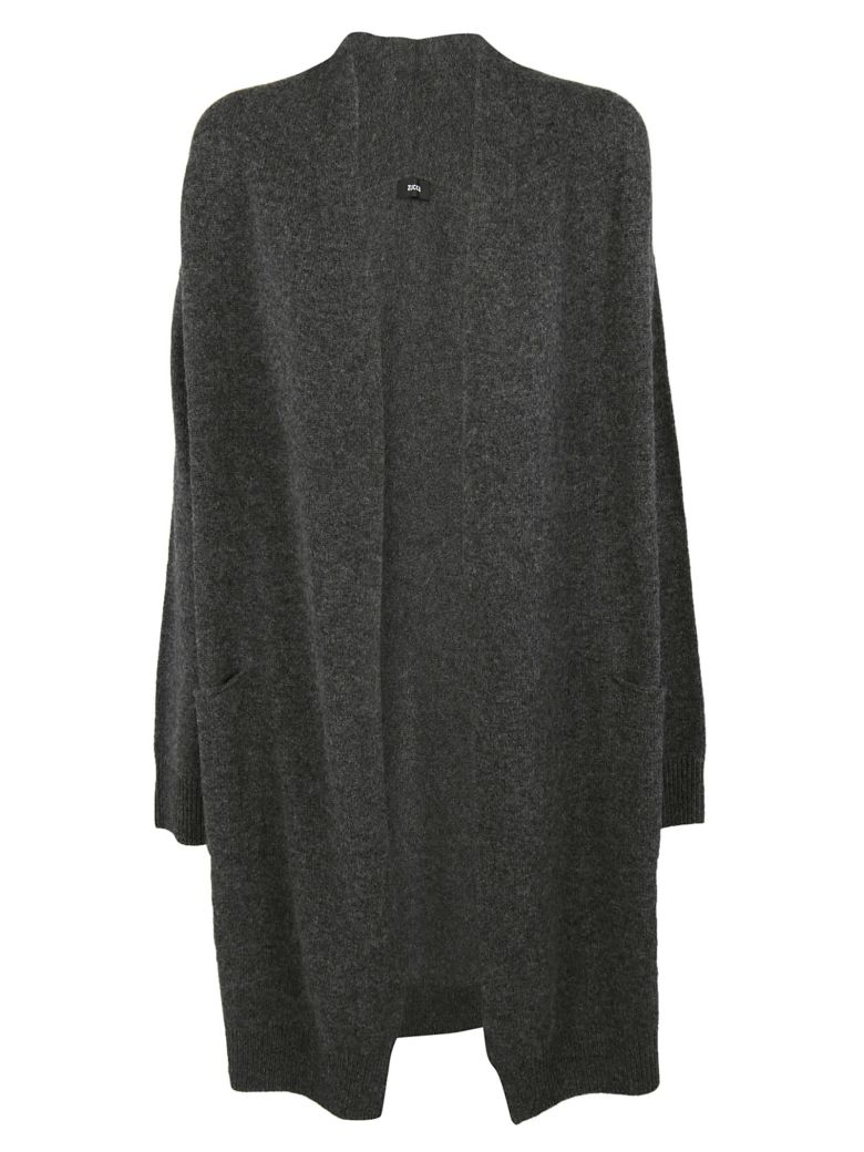 Zucca Open Front Cardigan - Gray