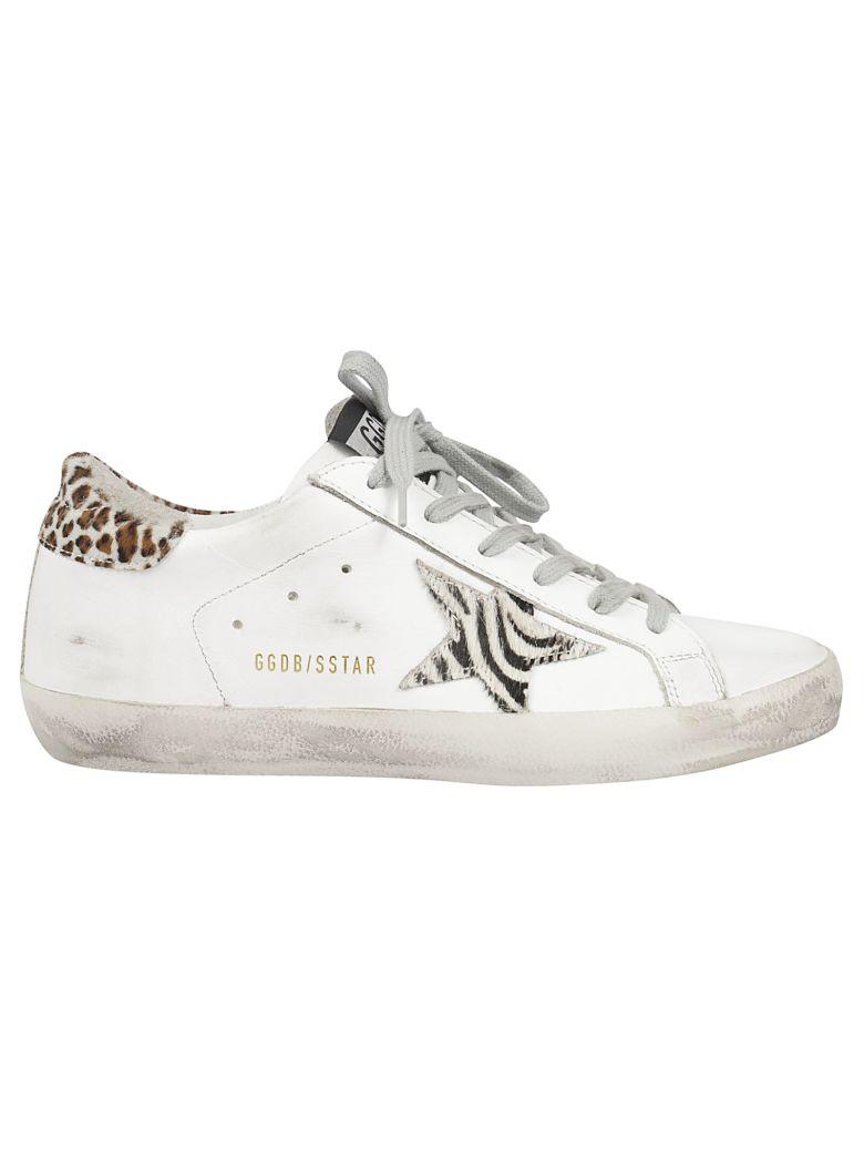 Golden Goose Superstar Sneakers - White Wild