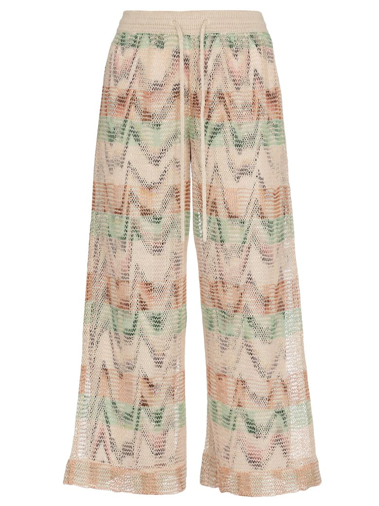Missoni Knitted Multicolor Pants - Basic