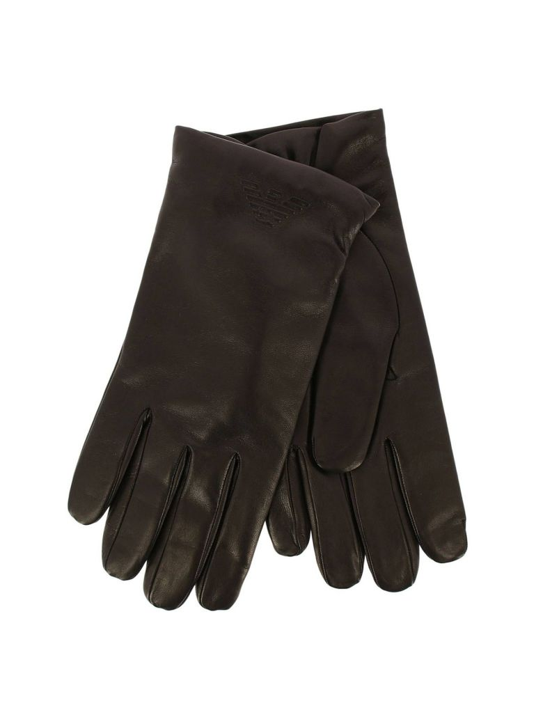 Emporio Armani Gloves Gloves Men Emporio Armani - black
