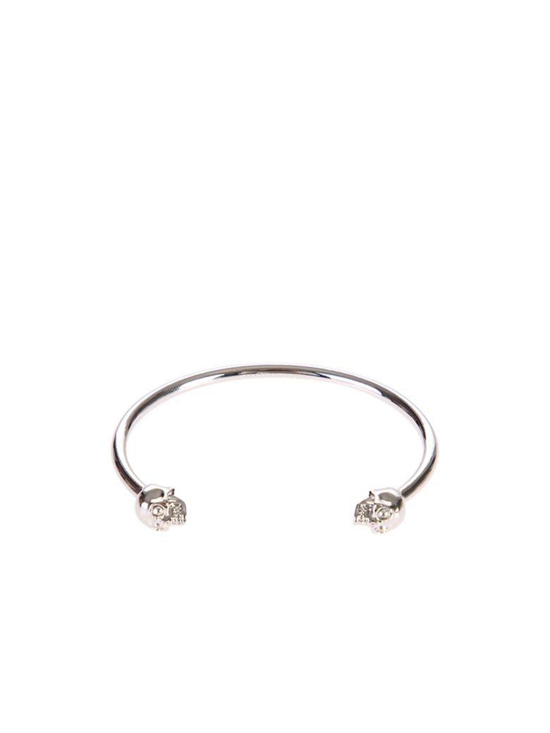 Alexander McQueen Skull Bracelet - Metallic