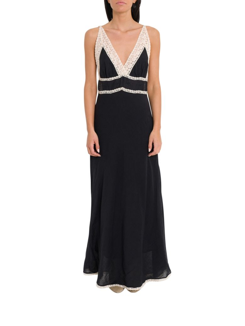 Mes Demoiselles Gibson Long Dress - Black