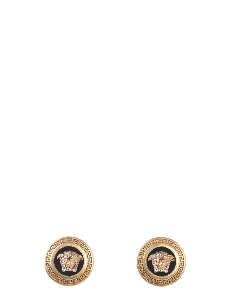 Versace Medusa Earrings - Gold