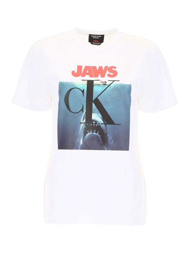 Calvin Klein Jaws T-shirt - WHITE (White)