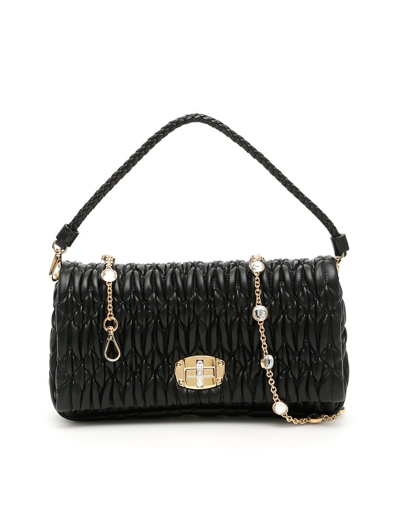 Miu Miu Cloquet Nappa Bag - NERO (Black)