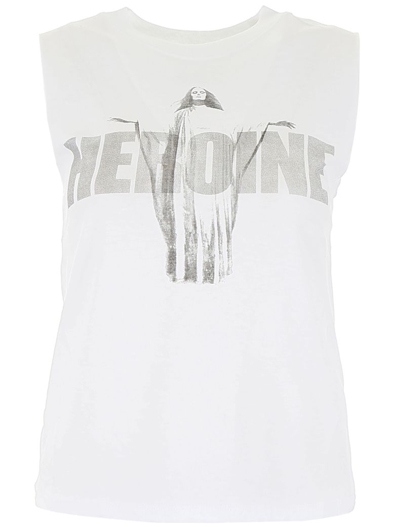 RTA Arena T-shirt - OPTIC WHITE HEROINE (White)