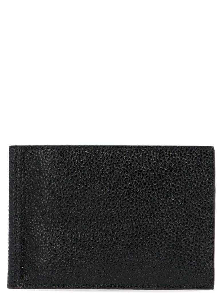 Thom Browne Money Clip Wallet - Black