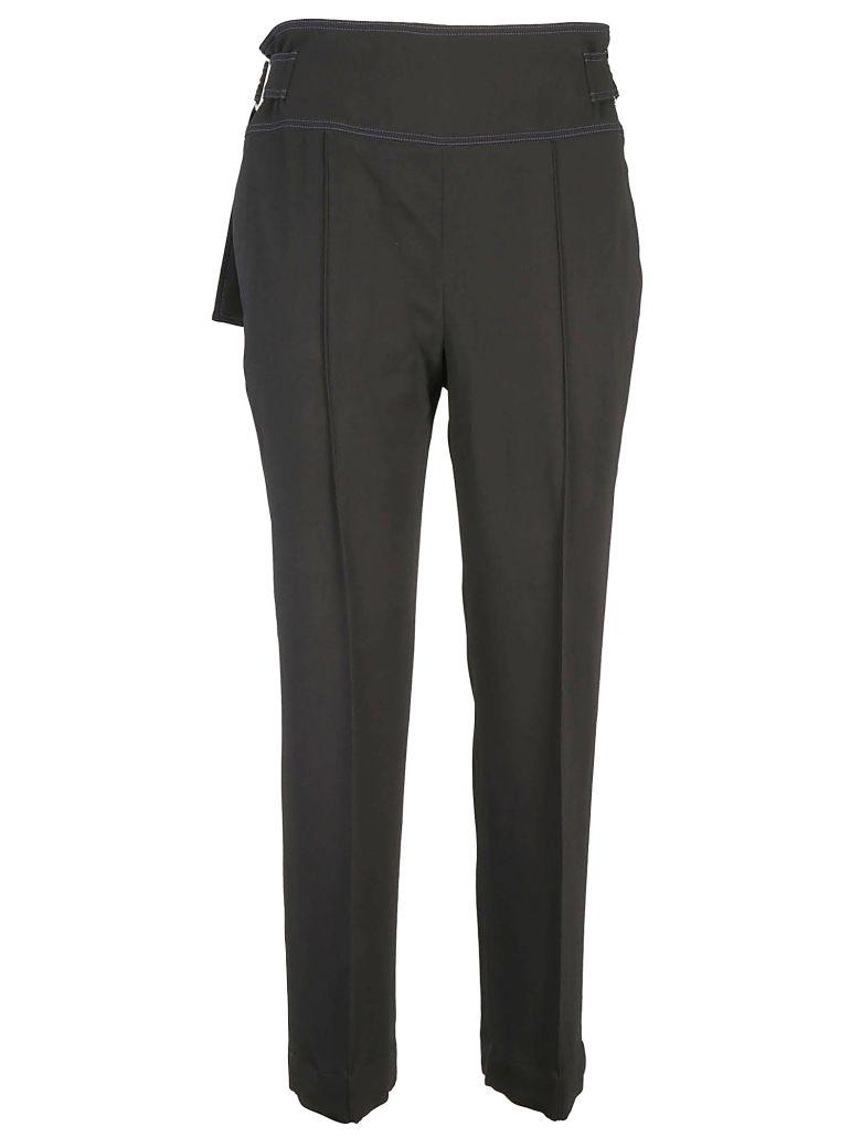 SportMax Pleated Trousers - Nero