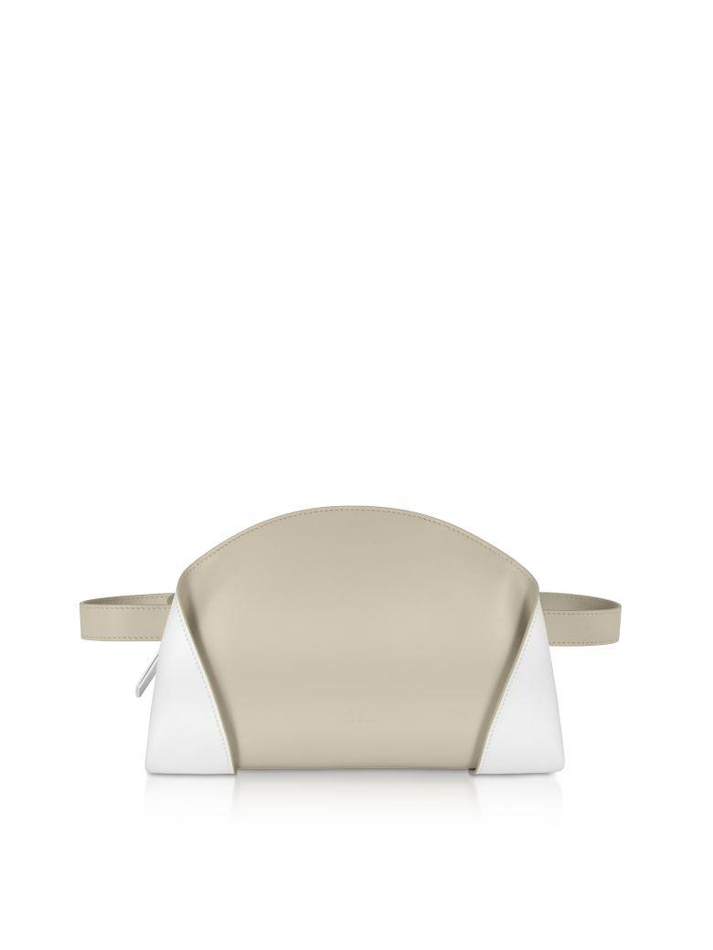 Giaquinto Egret White Freya Belt Bag - White