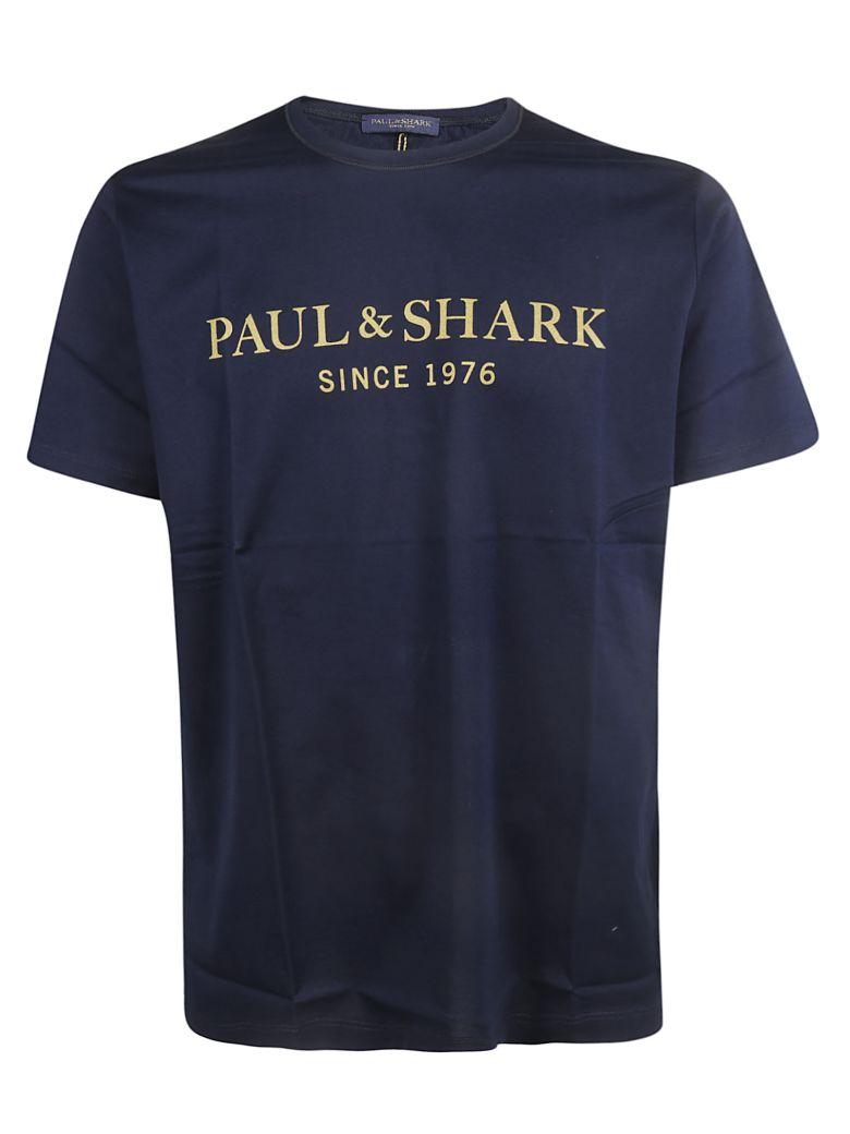 Paul&Shark Paul & Shark Logo Print T-shirt - Blue