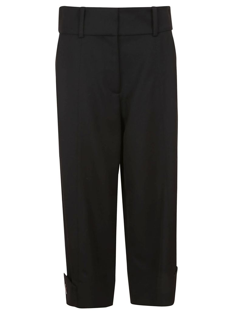 See by Chloé Wide Leg Cropped Trousers - .black
