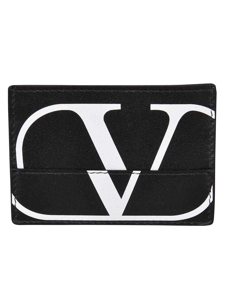 Valentino Logo Printed Wallet - Basic