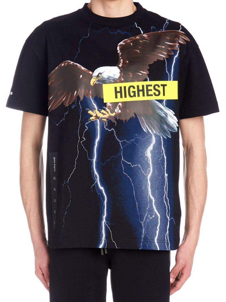 Palm Angels 'storm' T-shirt - Black