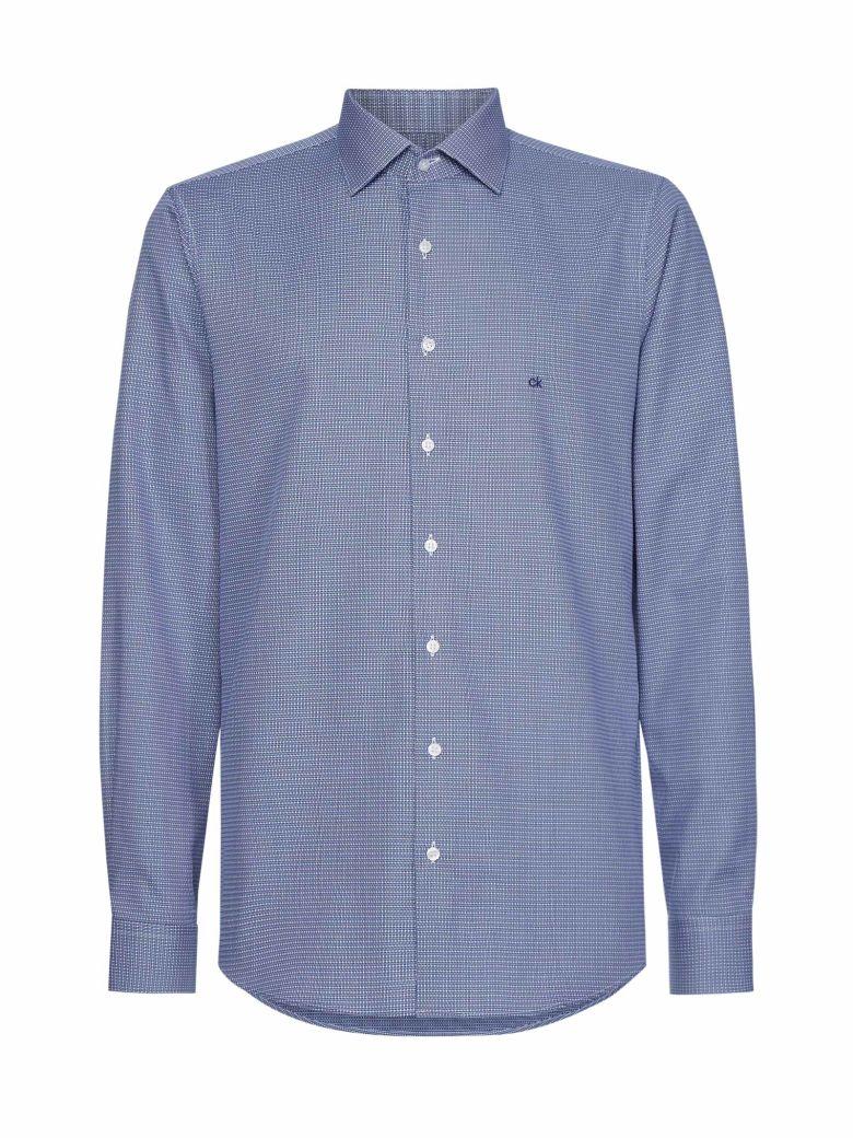 Calvin Klein Calvin Klein Cotton Logo Shirt - Blu