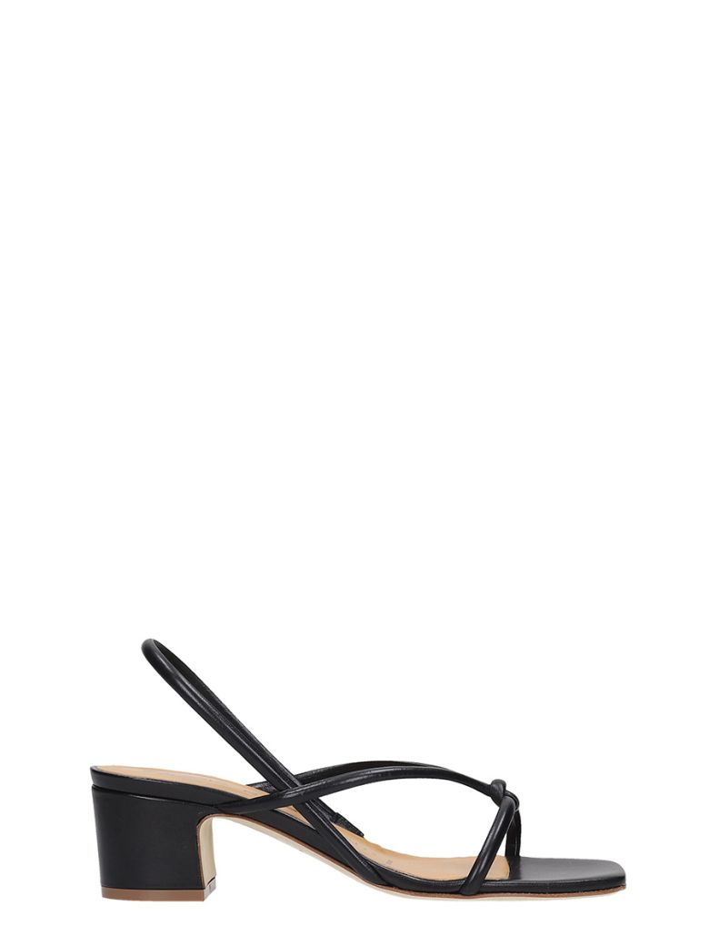 Fabio Rusconi Flats In Black Leather - black