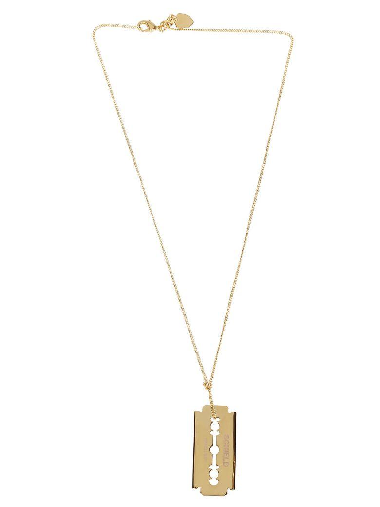 Schield Blade Necklace - Gold