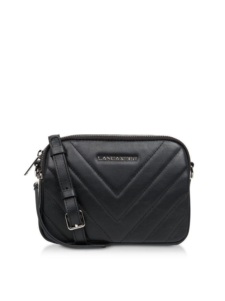 Lancaster Paris Parisienne Couture Small Crossbody Bag - Black