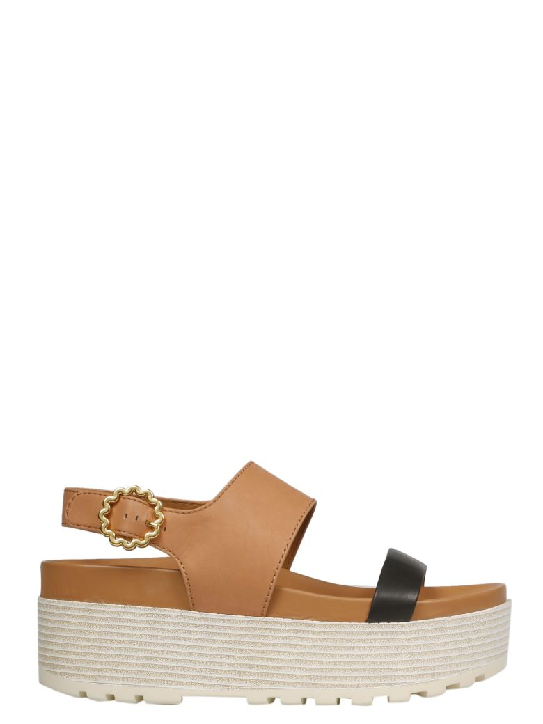 See by Chloé Platform Sandals - Tan