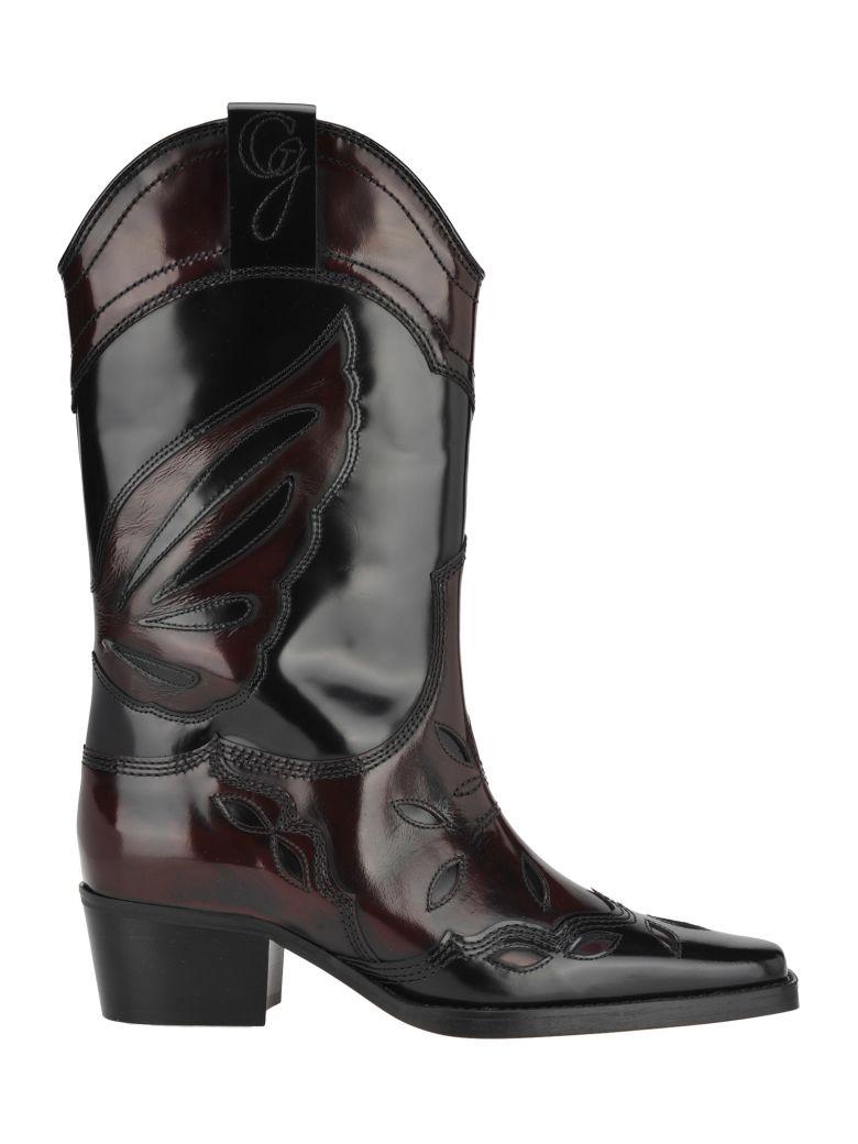 Ganni Marlyn Boots - Black