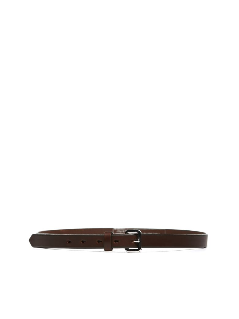 Neil Barrett Buckled Belt - Marrone