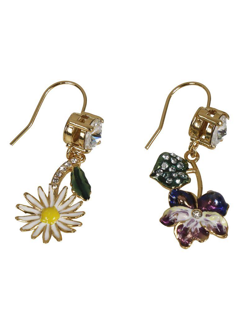 Miu Miu Crystal Earrings - Multicolor