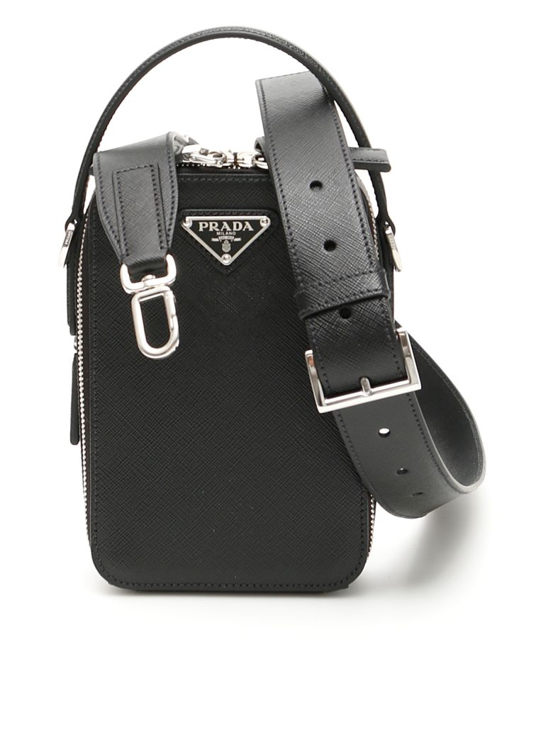 Prada Brique Bag - NERO|Nero