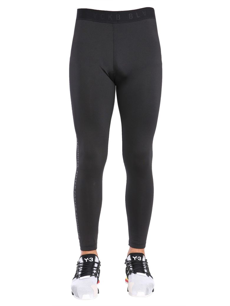 Blackbarrett LEGGINGS WITH FITTER FASTER STRONGER PRINT