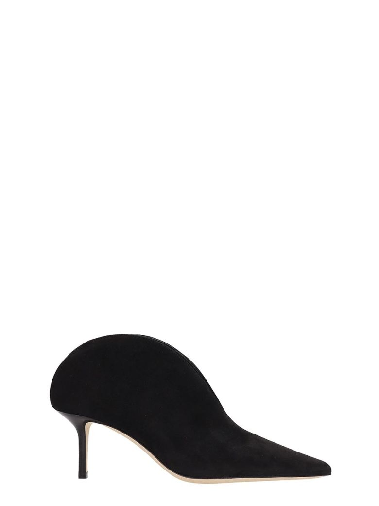 Jimmy Choo Black Suede Ankle Boots - Black