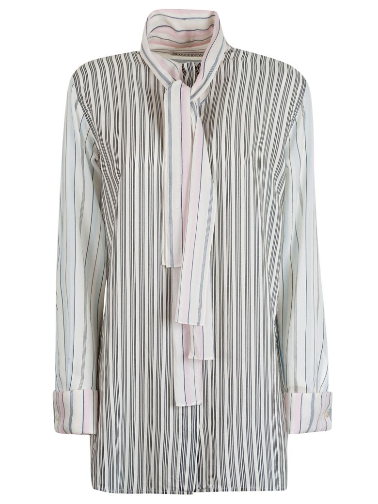 J.W. Anderson Jw Anderson Striped Shirt - Baby Pink