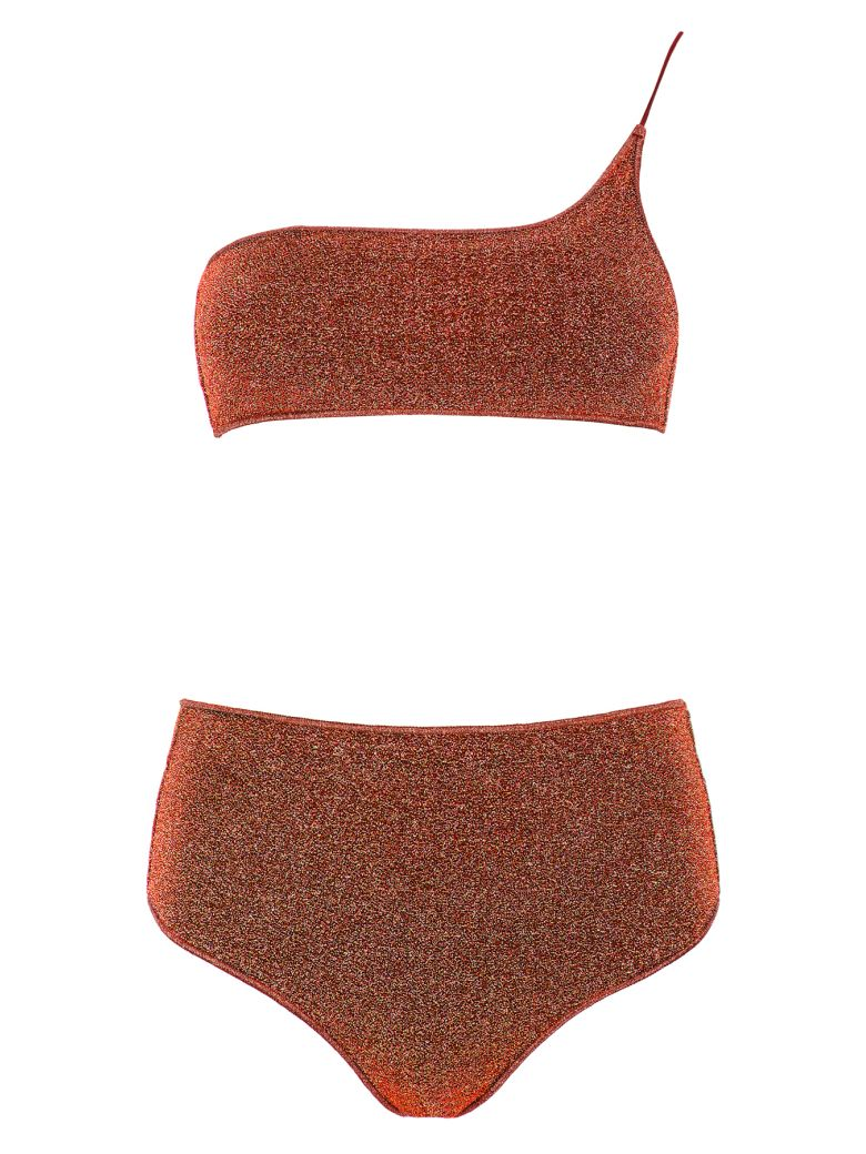 Oseree Lurex Bikini - BROWN (Brown)