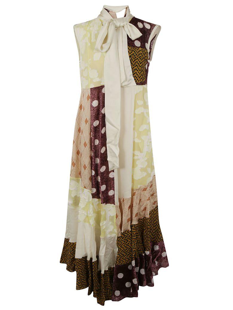 Golden Goose Long Length Sleeveless Bow-detail Dress - Multicolor