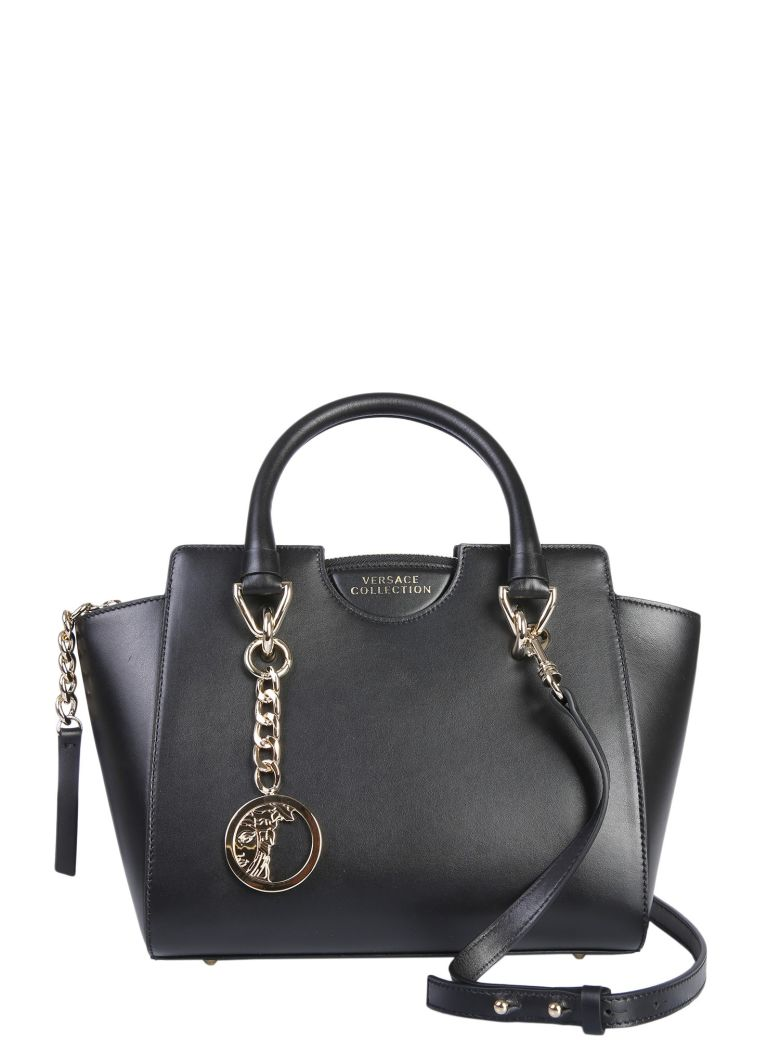 Versace Collection Small Bauletto Bag - NERO